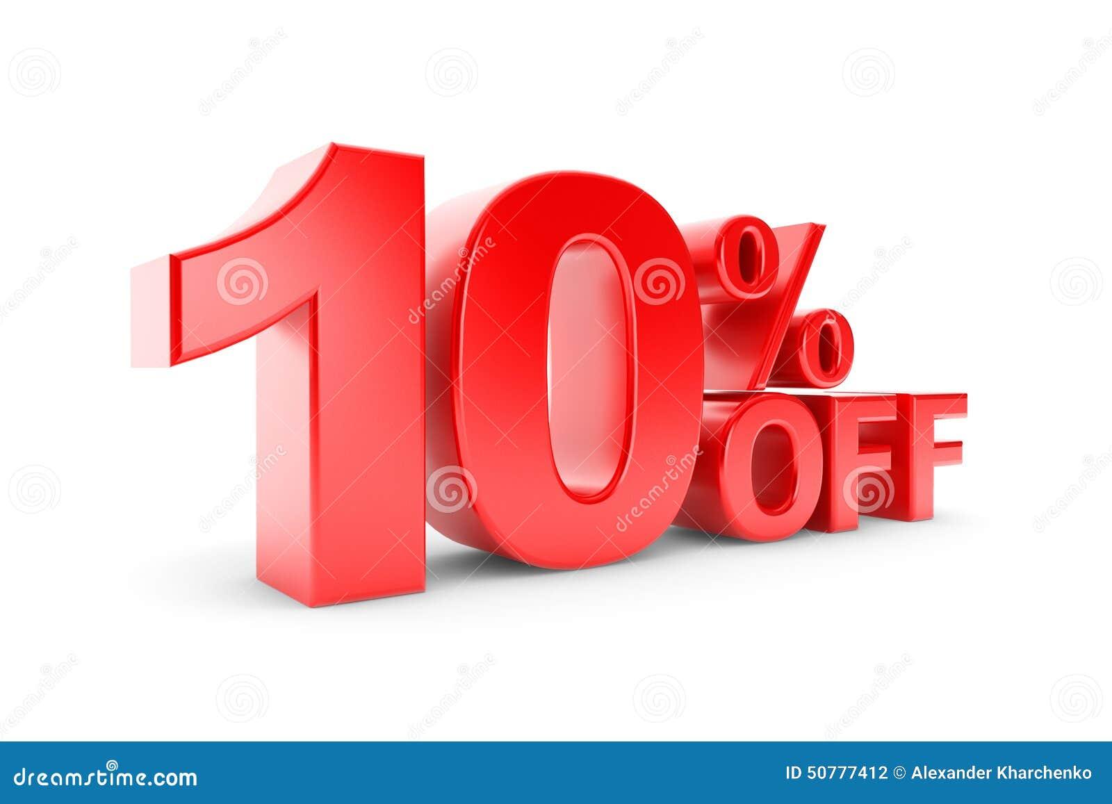 10 percentenkorting