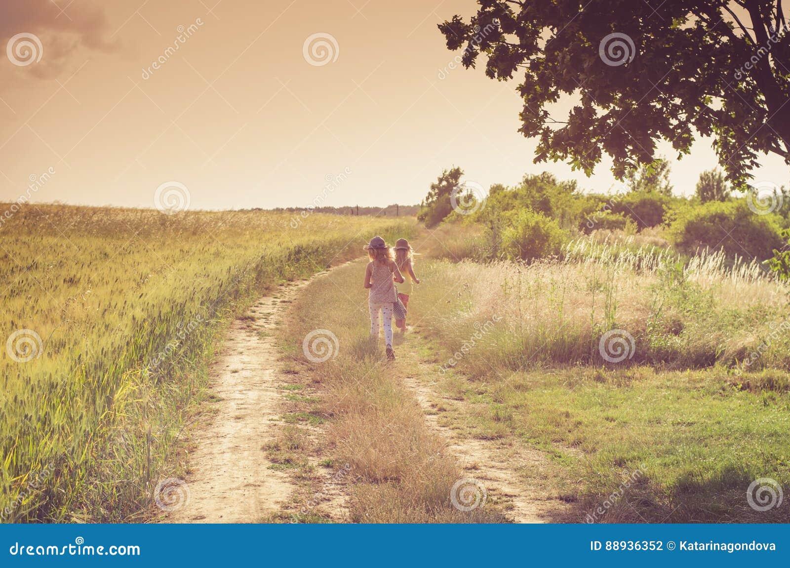 Percorso rurale romantico