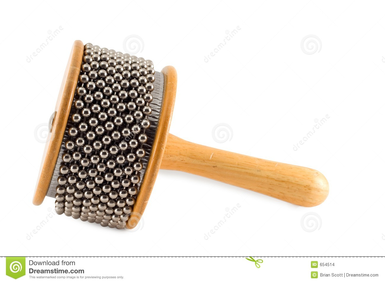 Percussion Instrument Afuche Cabassa Shaker Stock Images - Image ...