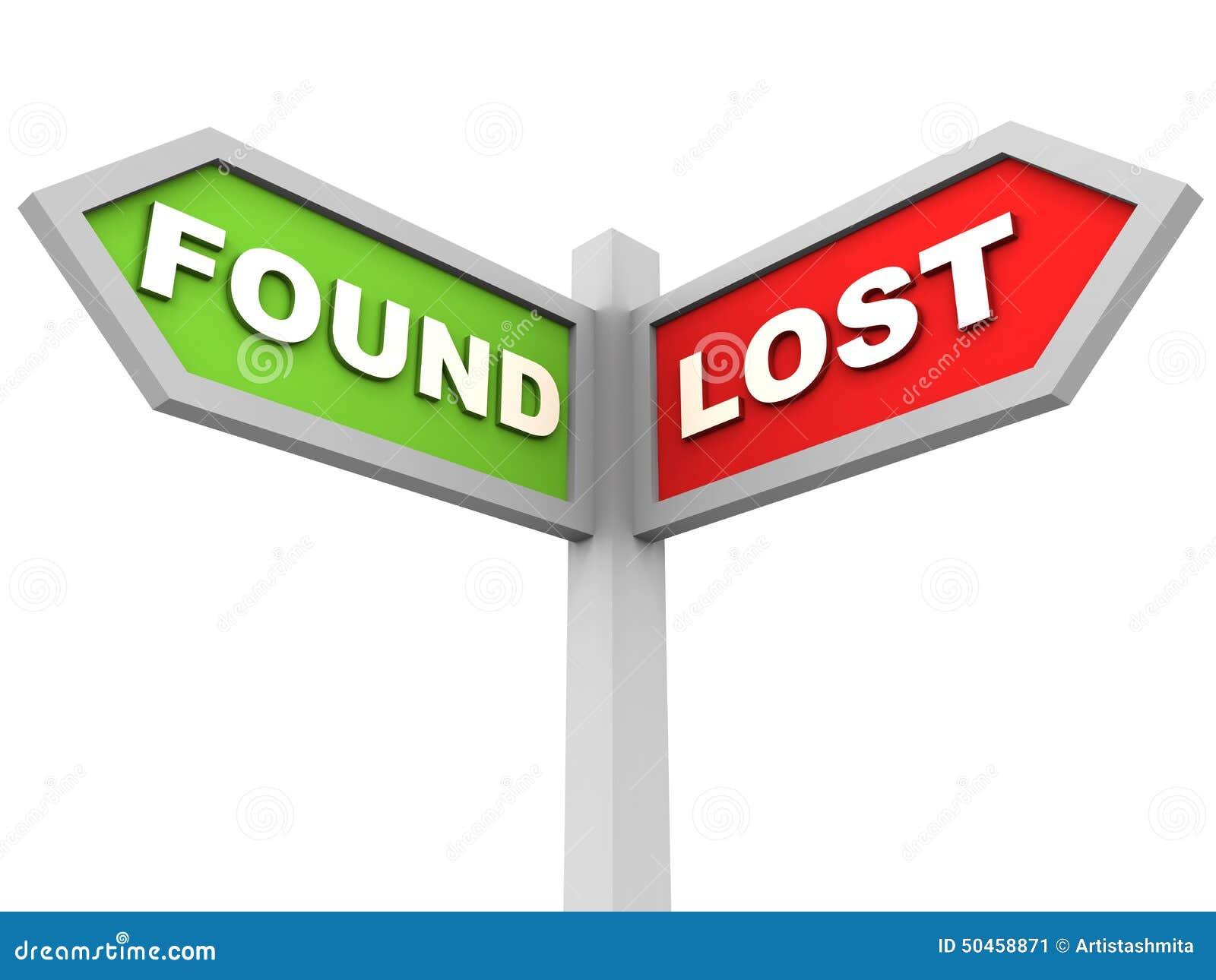 Perdido e encontrado