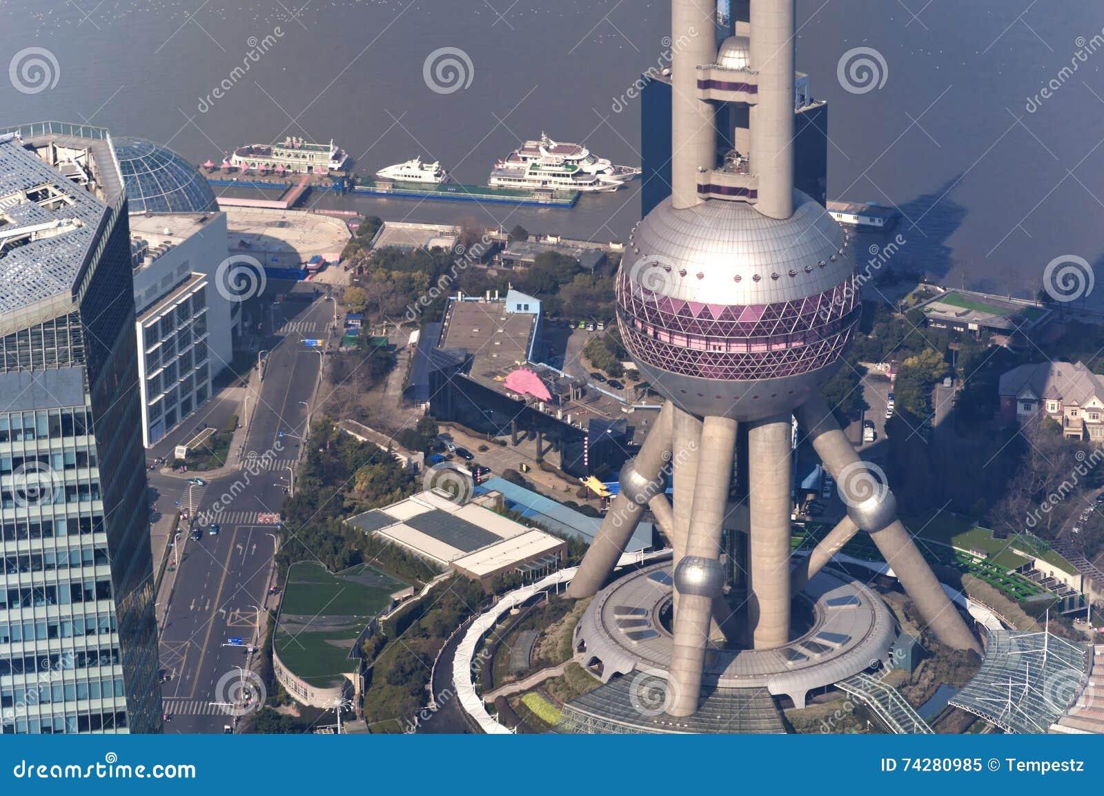 Perełkowy Oriental wierza Shanghai