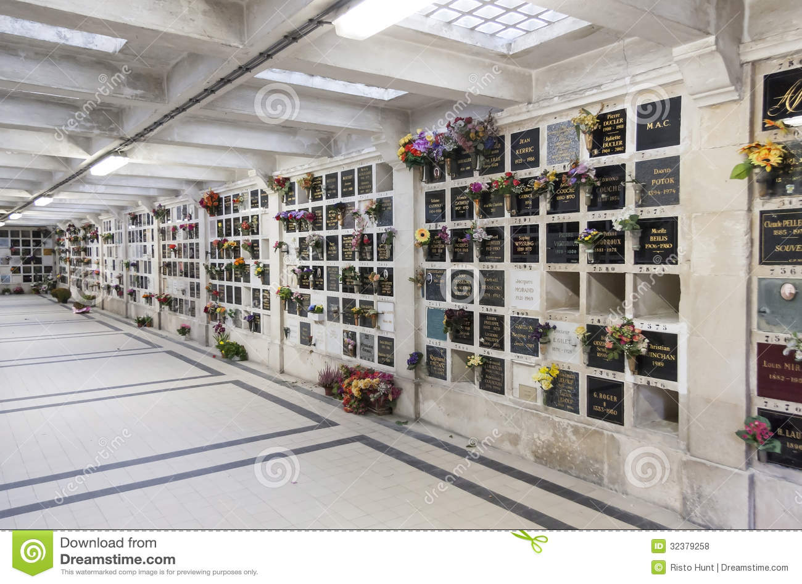 Pere Lachaise cmentarz w Paryż, Francja