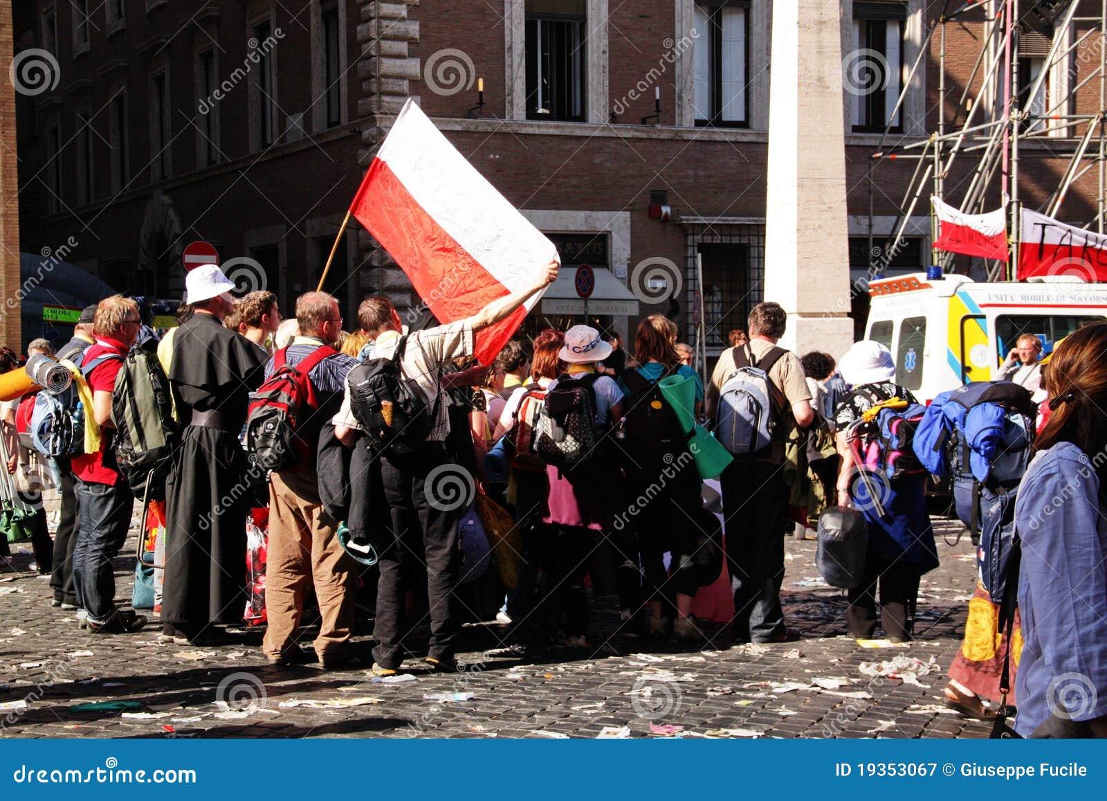 Peregrinos poloneses