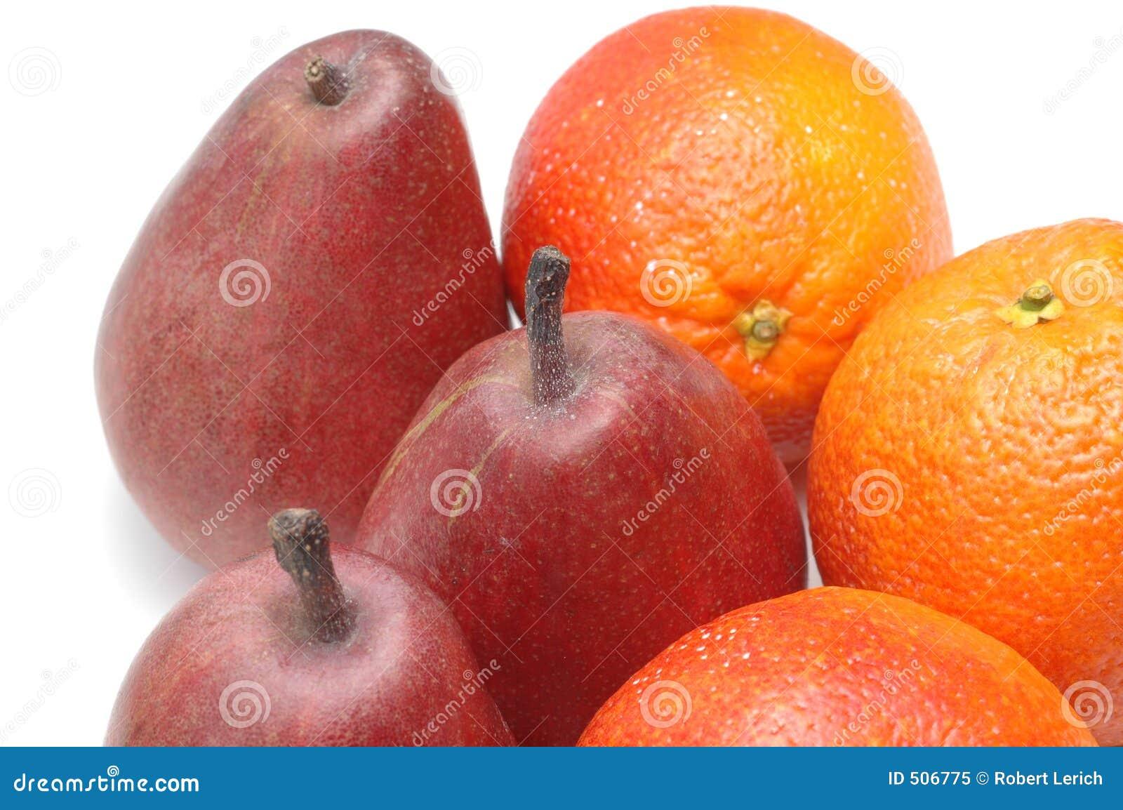 Peren en sinaasappelen