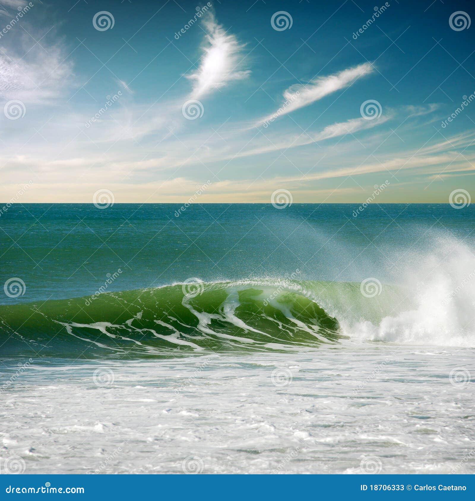 Perfeccione la onda