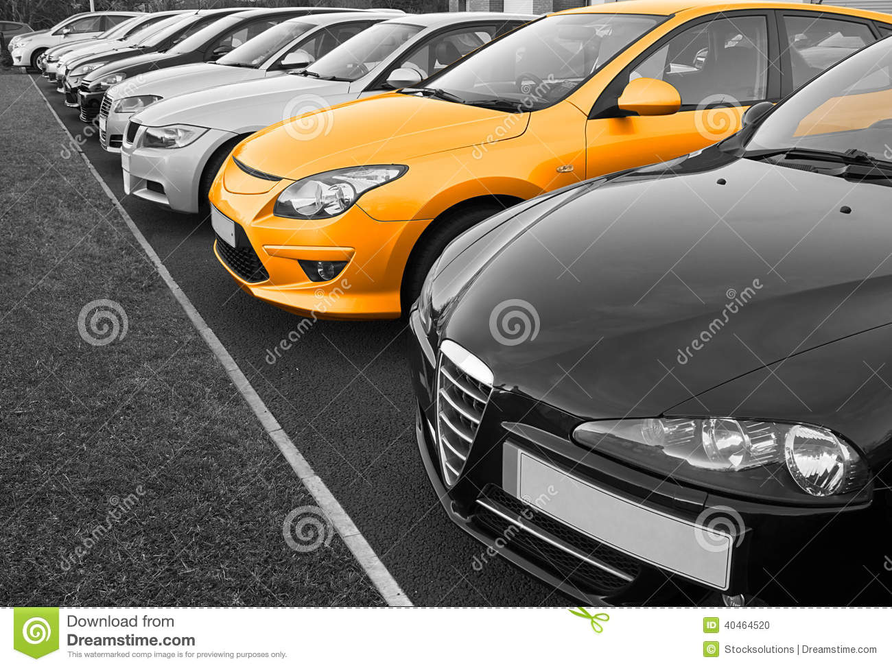 Used Cars For Sale Stock Image Image Of Cars License: Perfect Car Selection Stock Photo