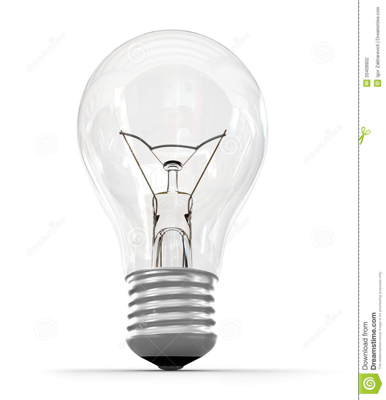Perfect Light Bulb Stock Photo Image Of Equipment Brightly 33409902