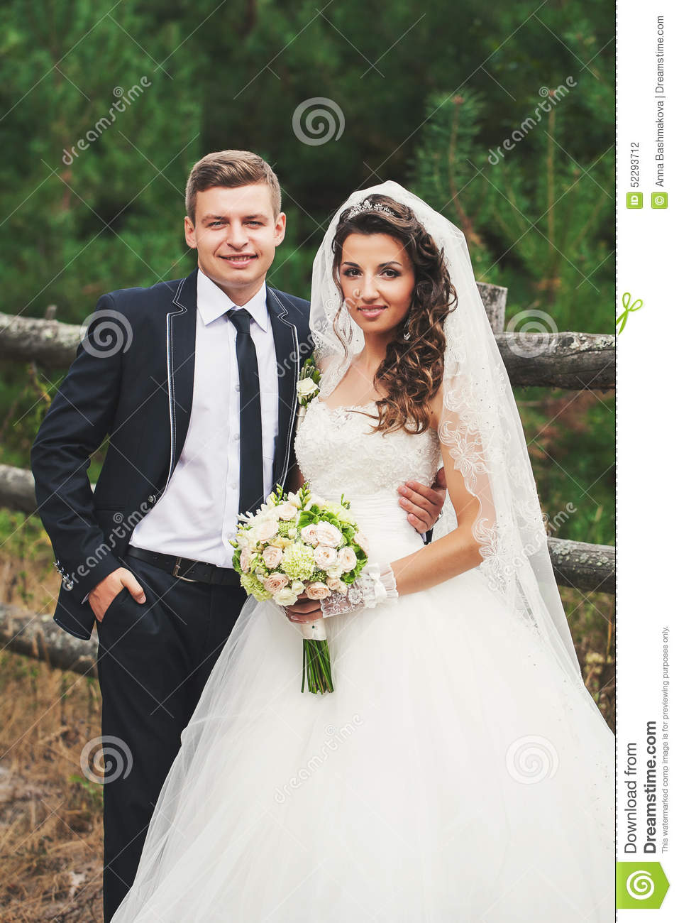 Matching Bride and Groom Dress