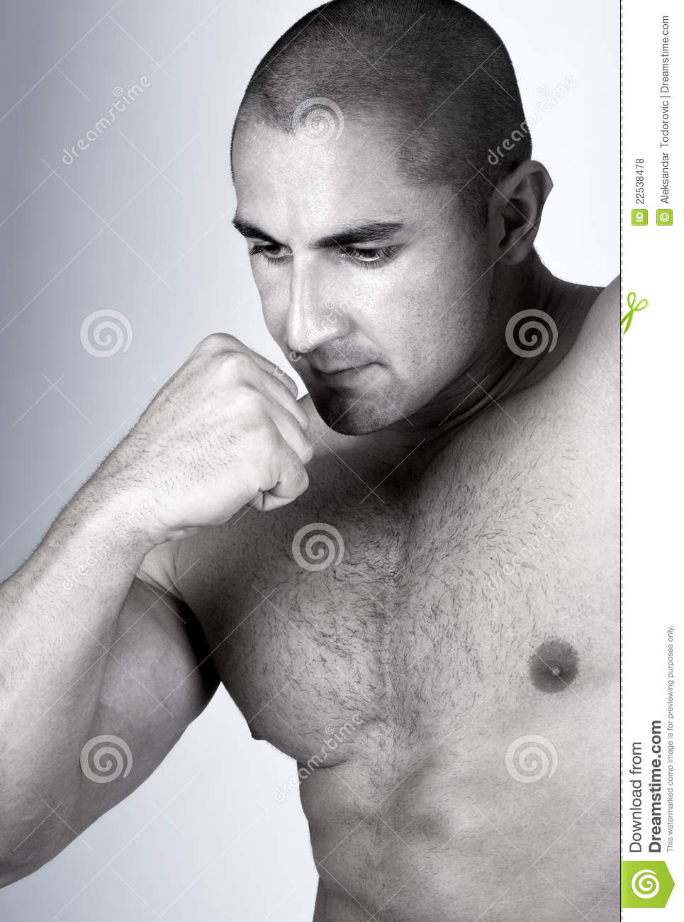 The Perfect Muscular male