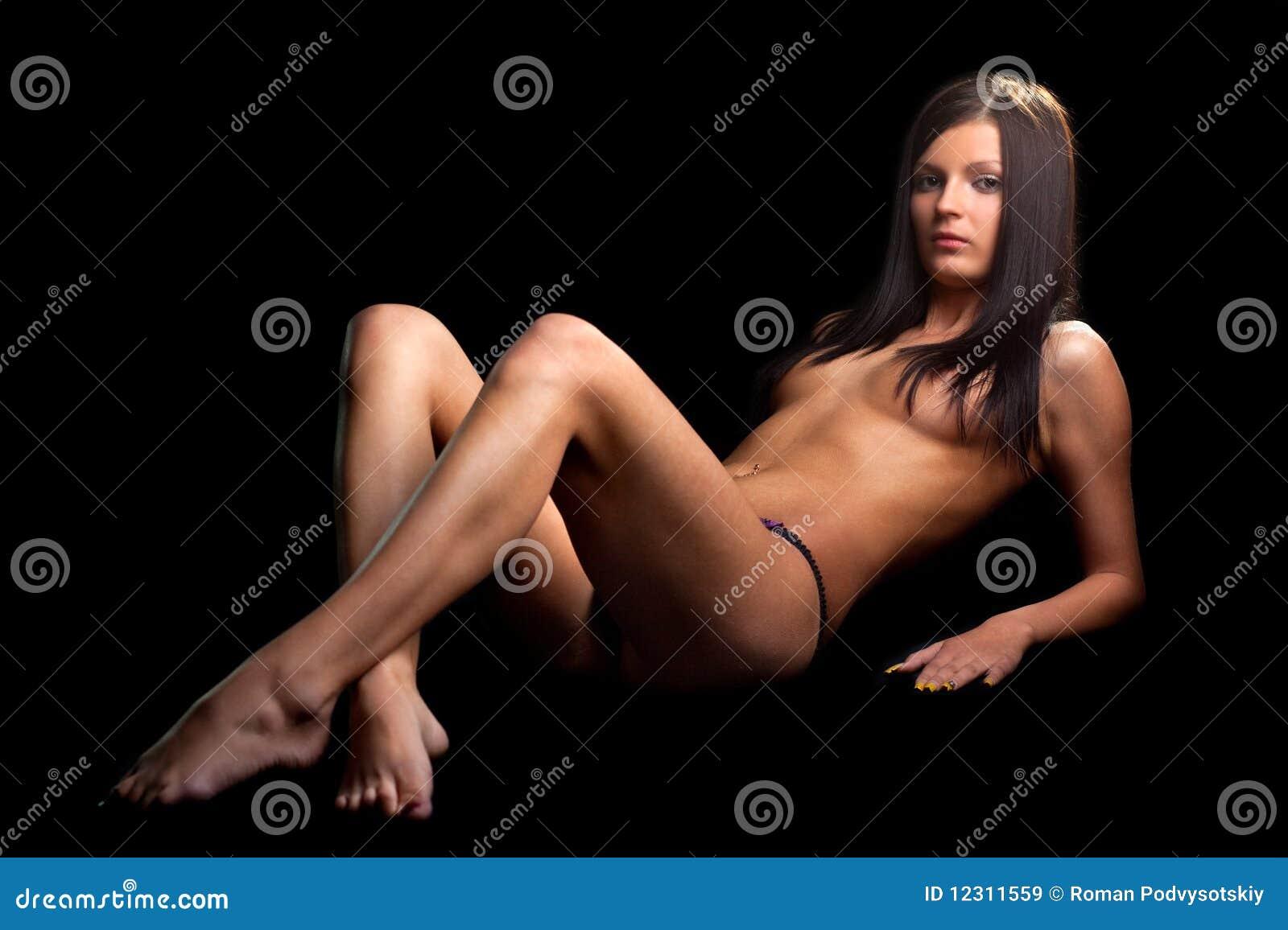 Perfect nude female bodybuilder