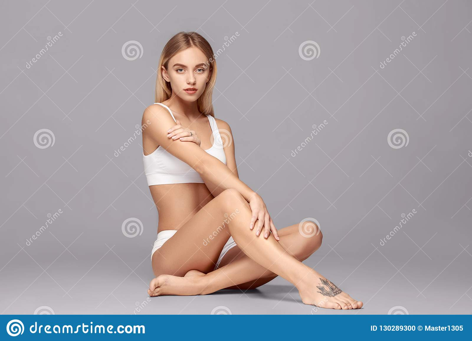 49e8cc3f274 Perfect Slim Toned Young Body Of The Girl . Stock Photo - Image of ...