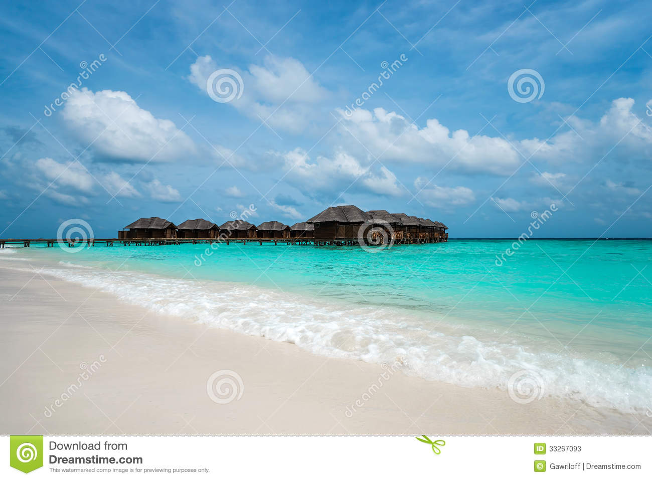 Tropical Island Beach Ambience Sound: Perfect Tropical Island Paradise Beach Stock Photos
