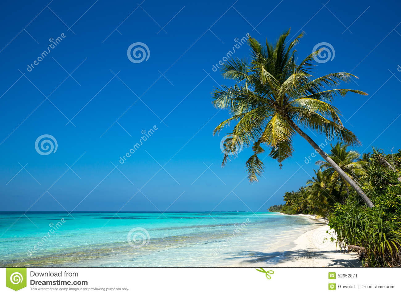 Perfect Tropical Island Paradise Beach And Old Boat Stock Image - Image of cloud, outdoors: 52652871