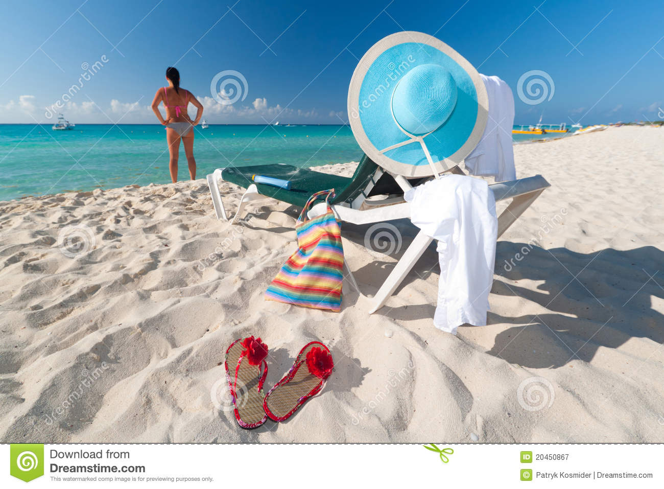 the concept of a perfect vacation Perfect vacation concept, pair of beach loungers on the deserted coast sea at sunrise pair beach loungers on the deserted coast sea at sunrise vacation concept.