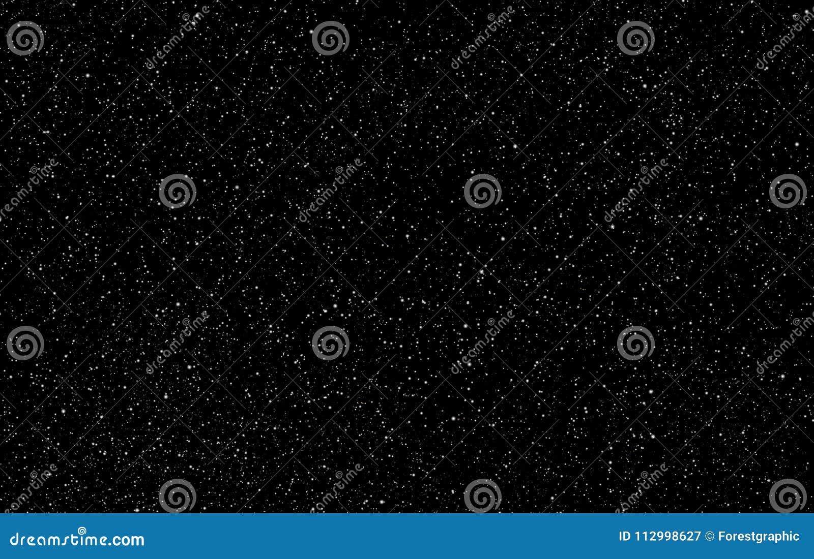Perfectionnez le fond étoilé de ciel nocturne - backgro de vecteur d espace extra-atmosphérique
