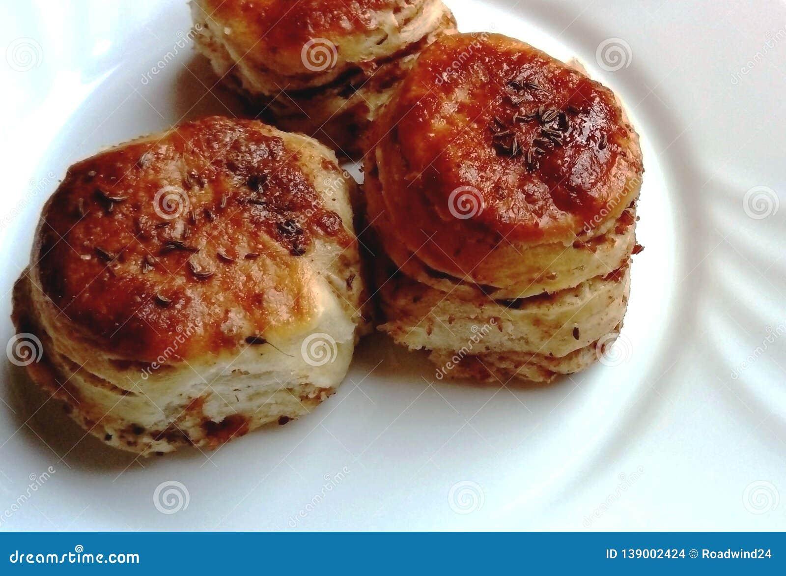 Perfectly baked pork rind cookies