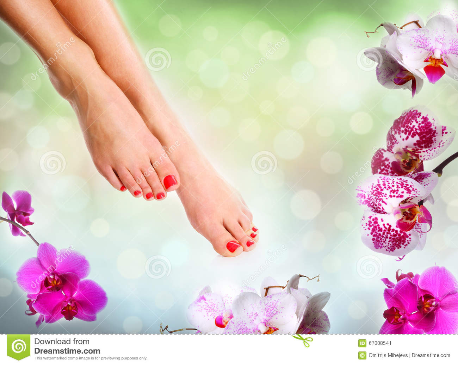 Perfekte weibliche Füße