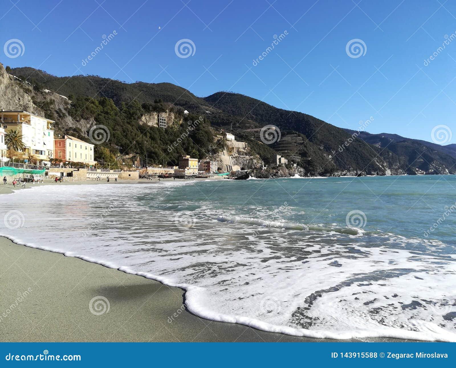 Perfekter Tag in Cinque Terre, Italien