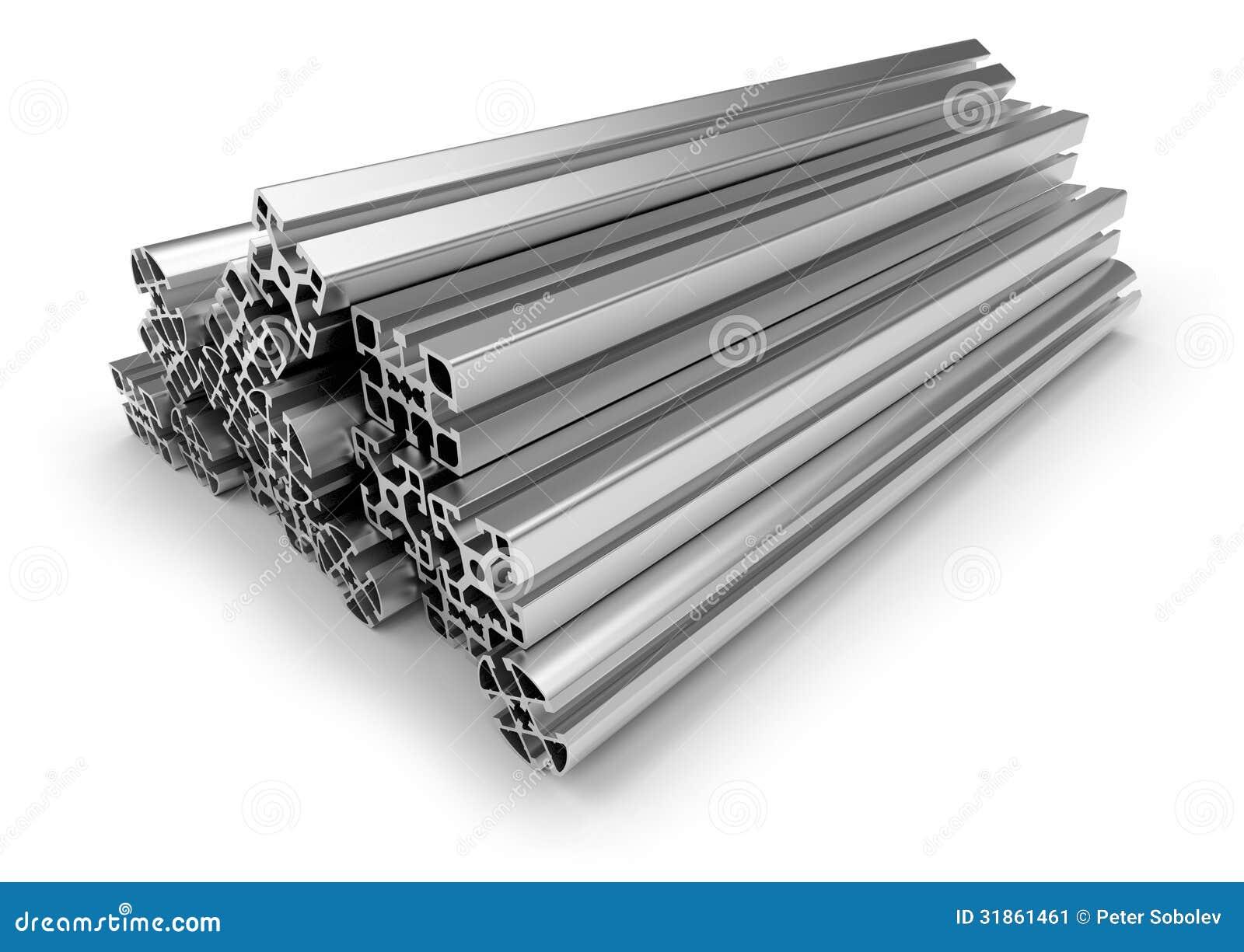 Perfil de aluminio stock de ilustraci n ilustraci n de - Perfil de aluminio precio ...