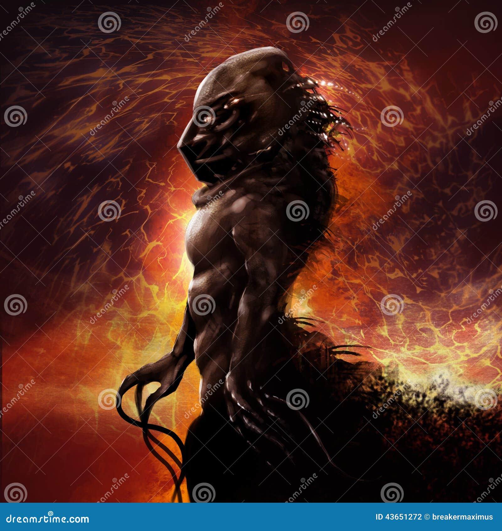 Perfil do monstro