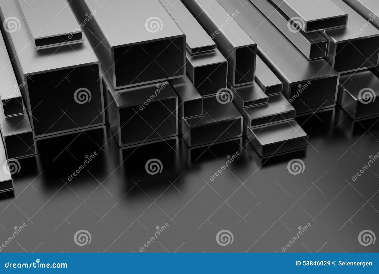 Perfiles de acero stock de ilustraci n imagen 53846029 - Perfil acero inoxidable precio ...