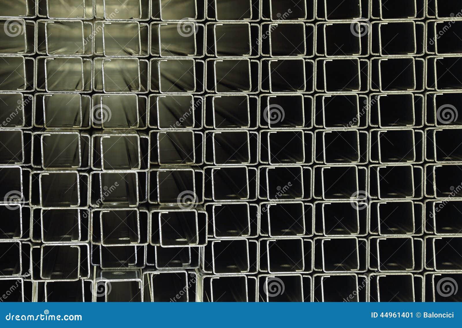 Perfiles del acero inoxidable foto de archivo imagen - Perfil acero inoxidable precio ...