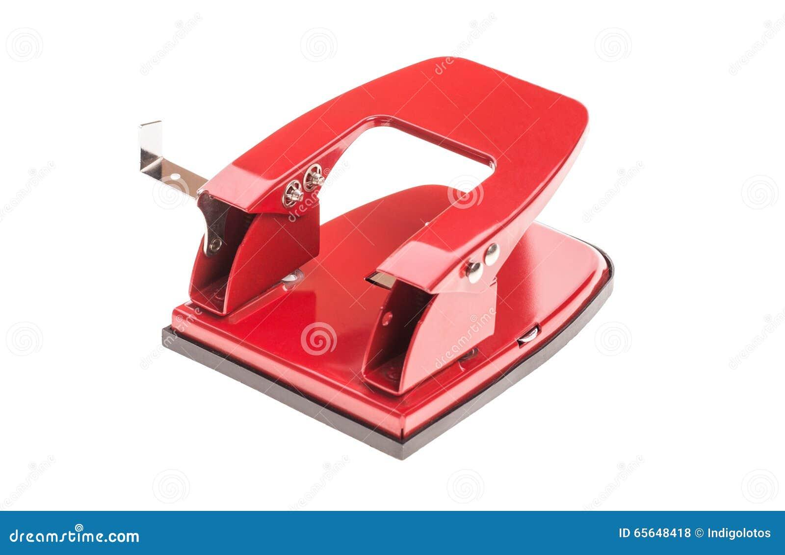 Perforateur de trou rouge de bureau