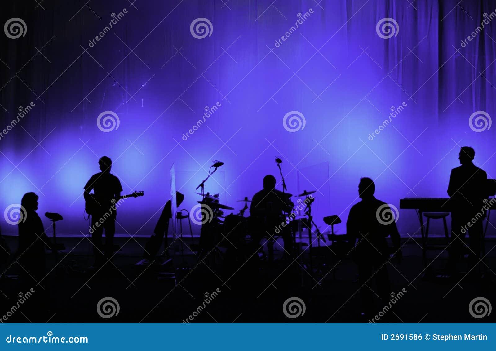 Concert Stage Backdrop