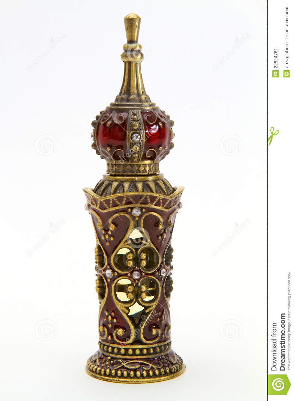 Perfume Bottle Stock Image Image Of Ruby Fashion Arab