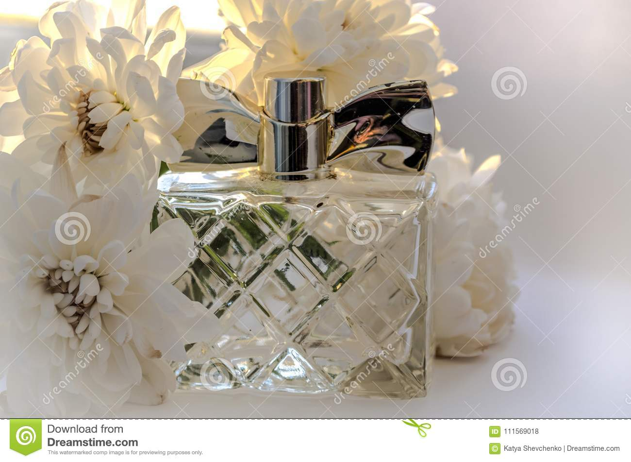 Perfume and white flowers stock photo image of perfume 111569018 perfume and white flowers mightylinksfo