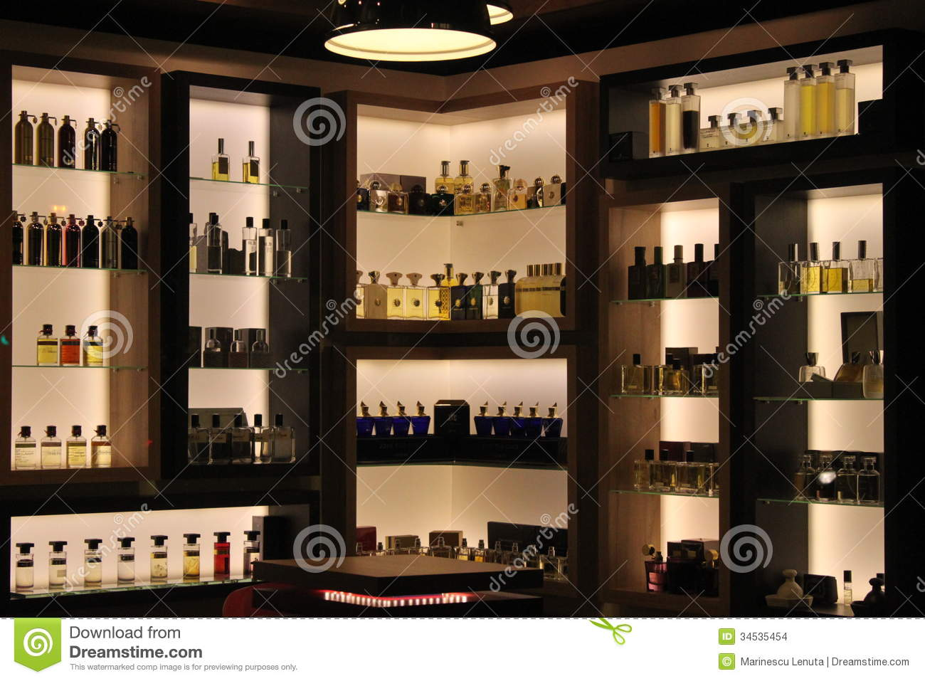 Perfumes In Store Editorial Stock Image - Image: 34535454