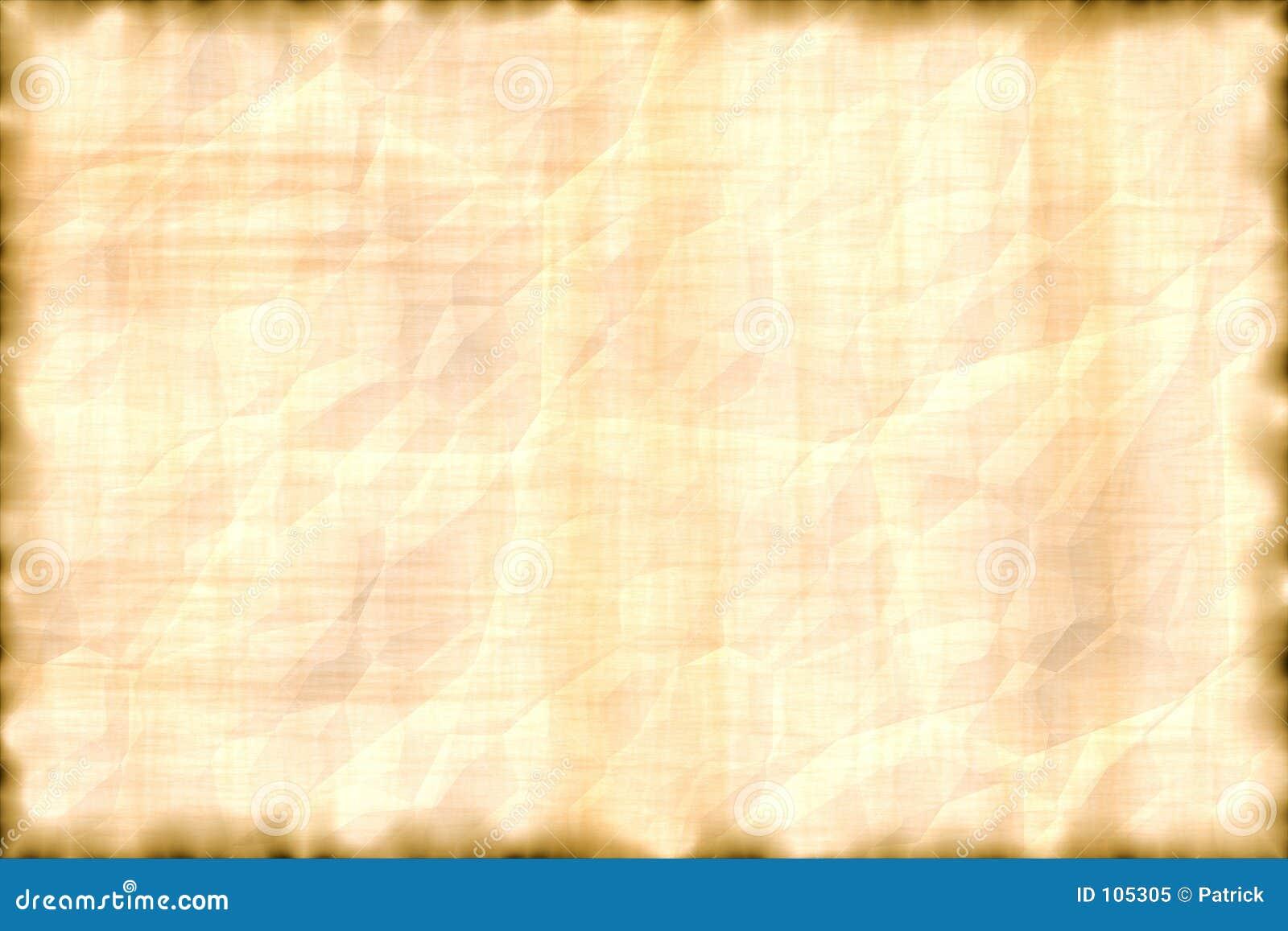 Favoloso Pergamena orizzontale. illustrazione di stock. Illustrazione di  CV16