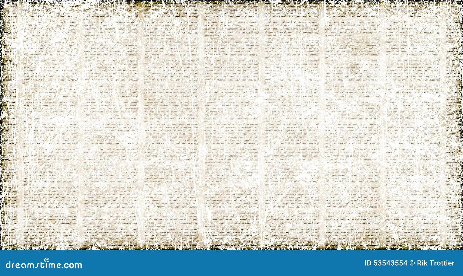 Pergament Und Textzusammenfassung Stock Abbildung Illustration