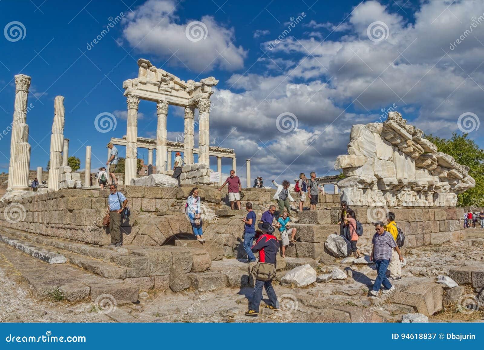 Pergamon - temple de Trajan