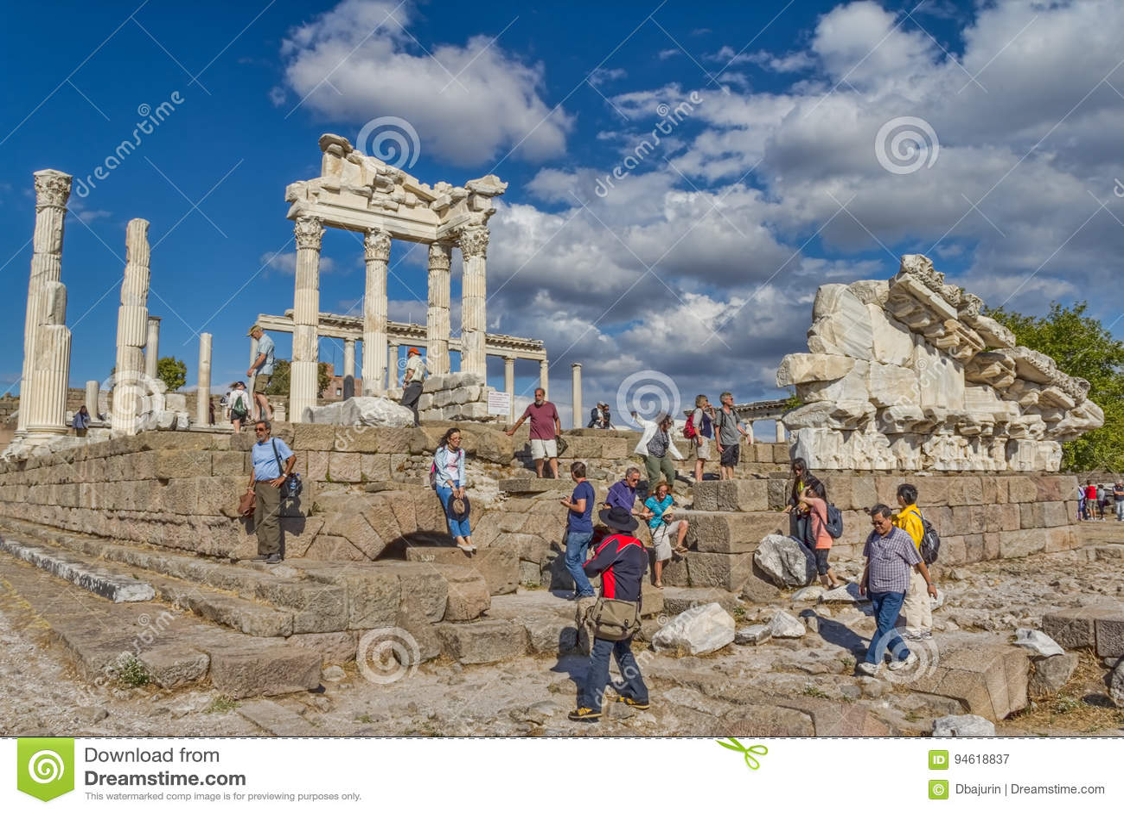 Pergamon - templo de Trajan