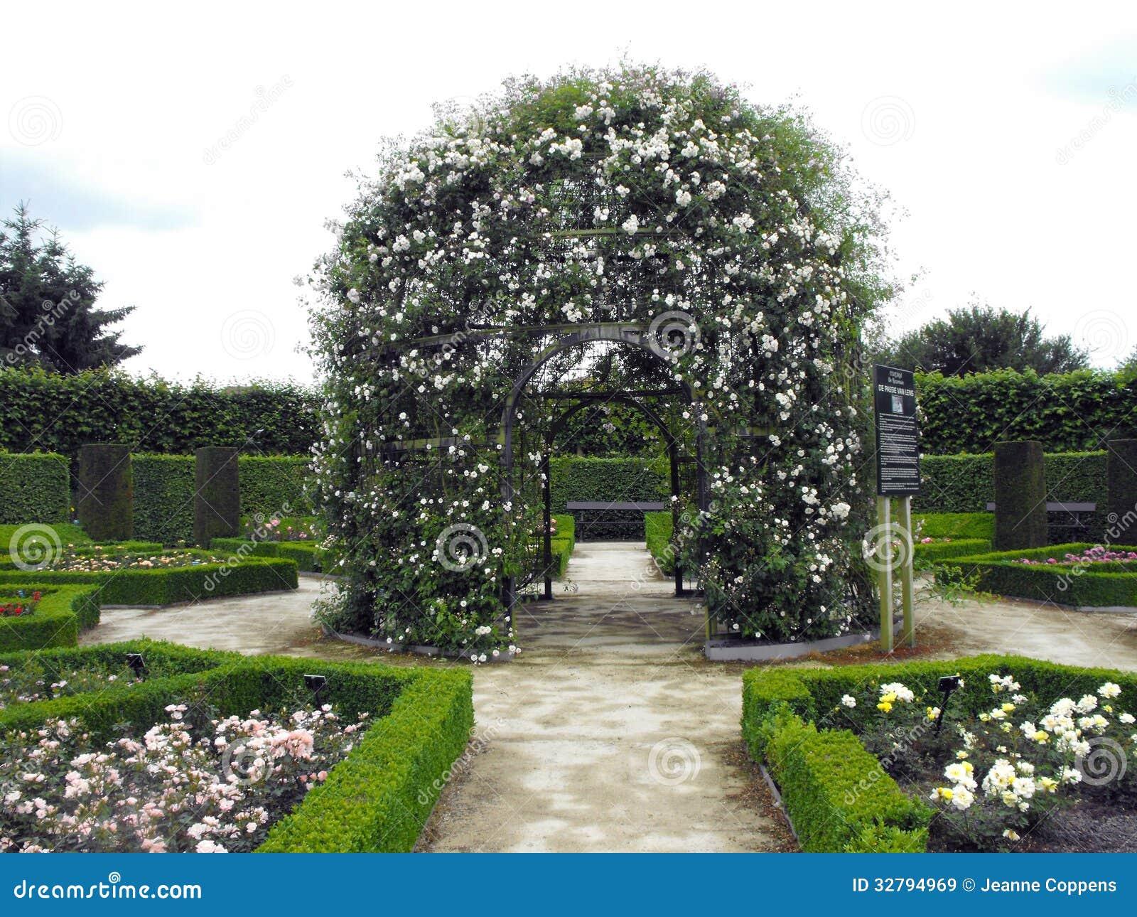 Pergola met witte rozen stock afbeelding afbeelding bestaande uit structuur 32794969 - Pergola verkoop ...