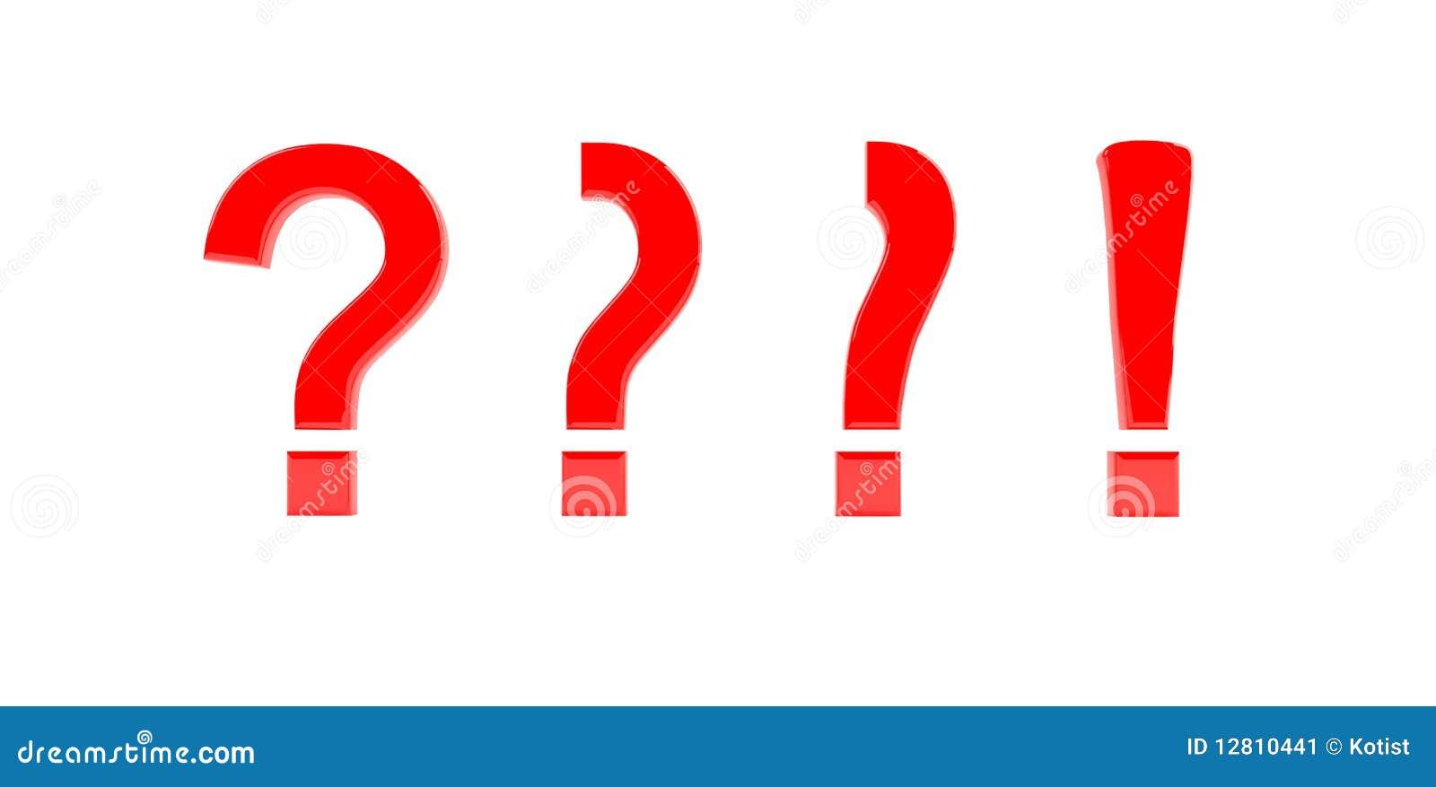 Pergunta à marca de exclamação