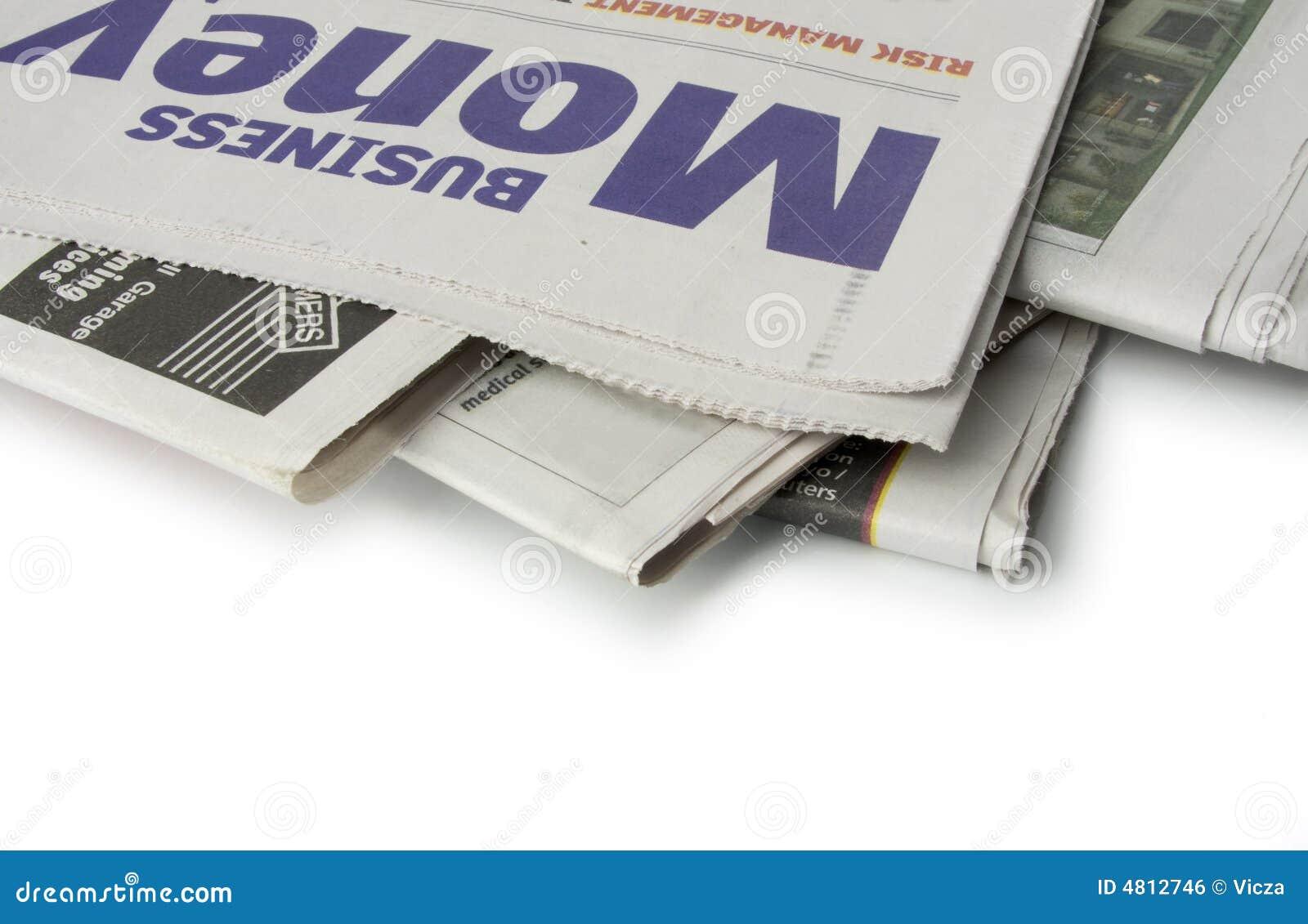 Periódico - las paginaciones del dinero