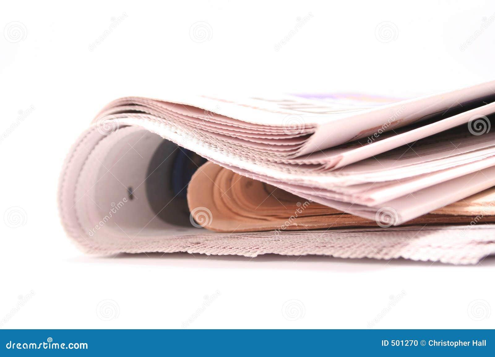 Periódico plegable