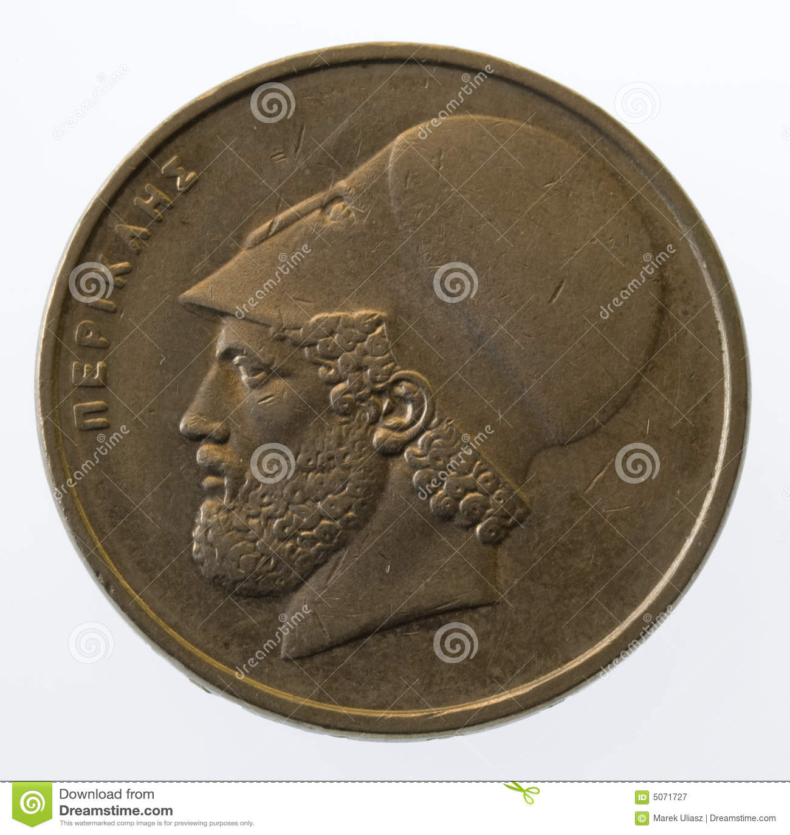 Pericles oude griekse leider en staatsman op 2 stock afbeelding afbeelding 5071727 - Oude griekse decoratie ...