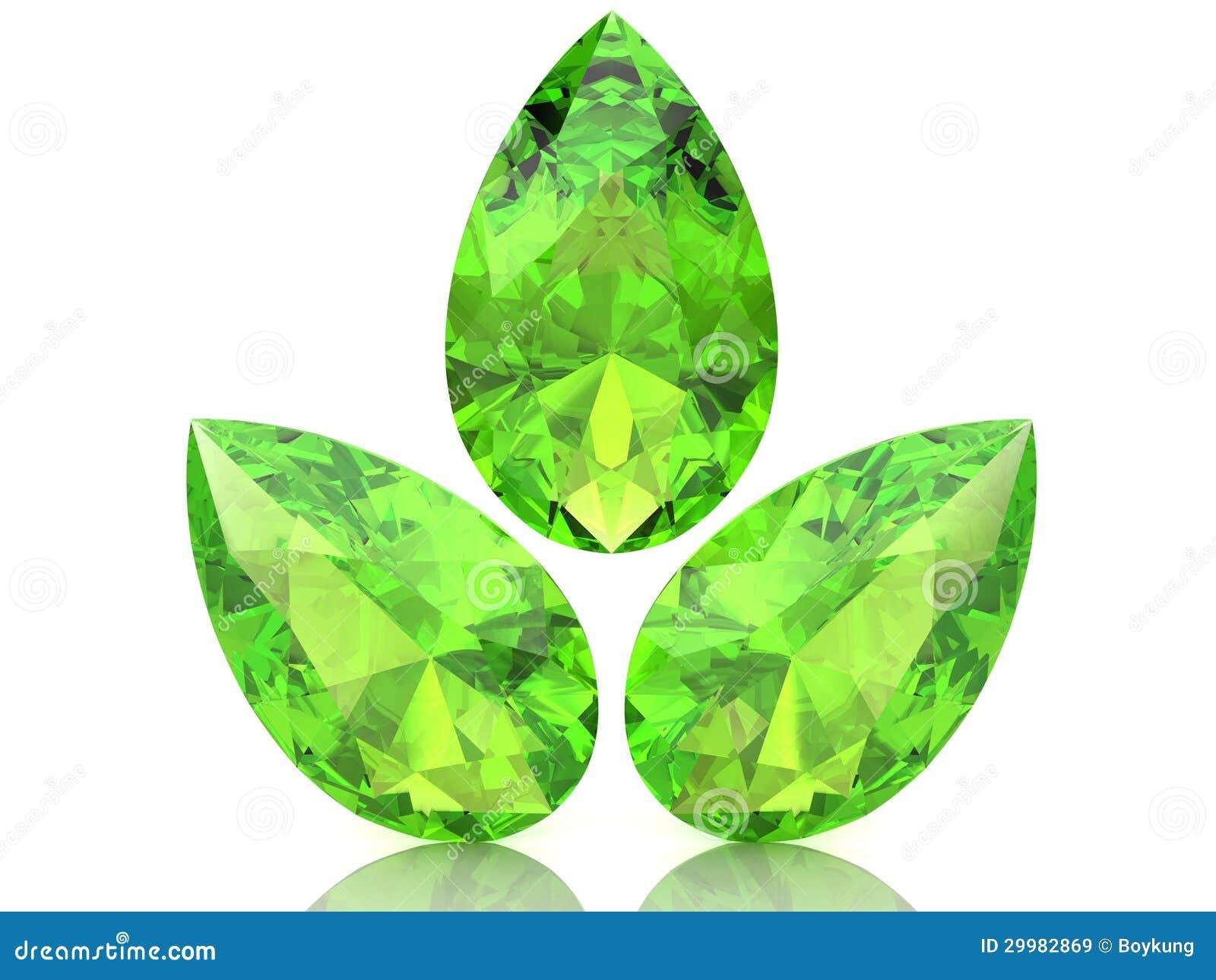 Diamante Me Peridot Green Crystal Glass Diamante