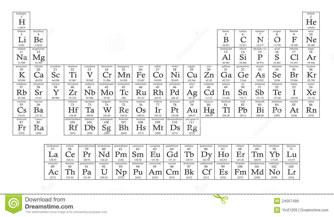 Periodic table stock illustration illustration of power 24007499 periodic table urtaz