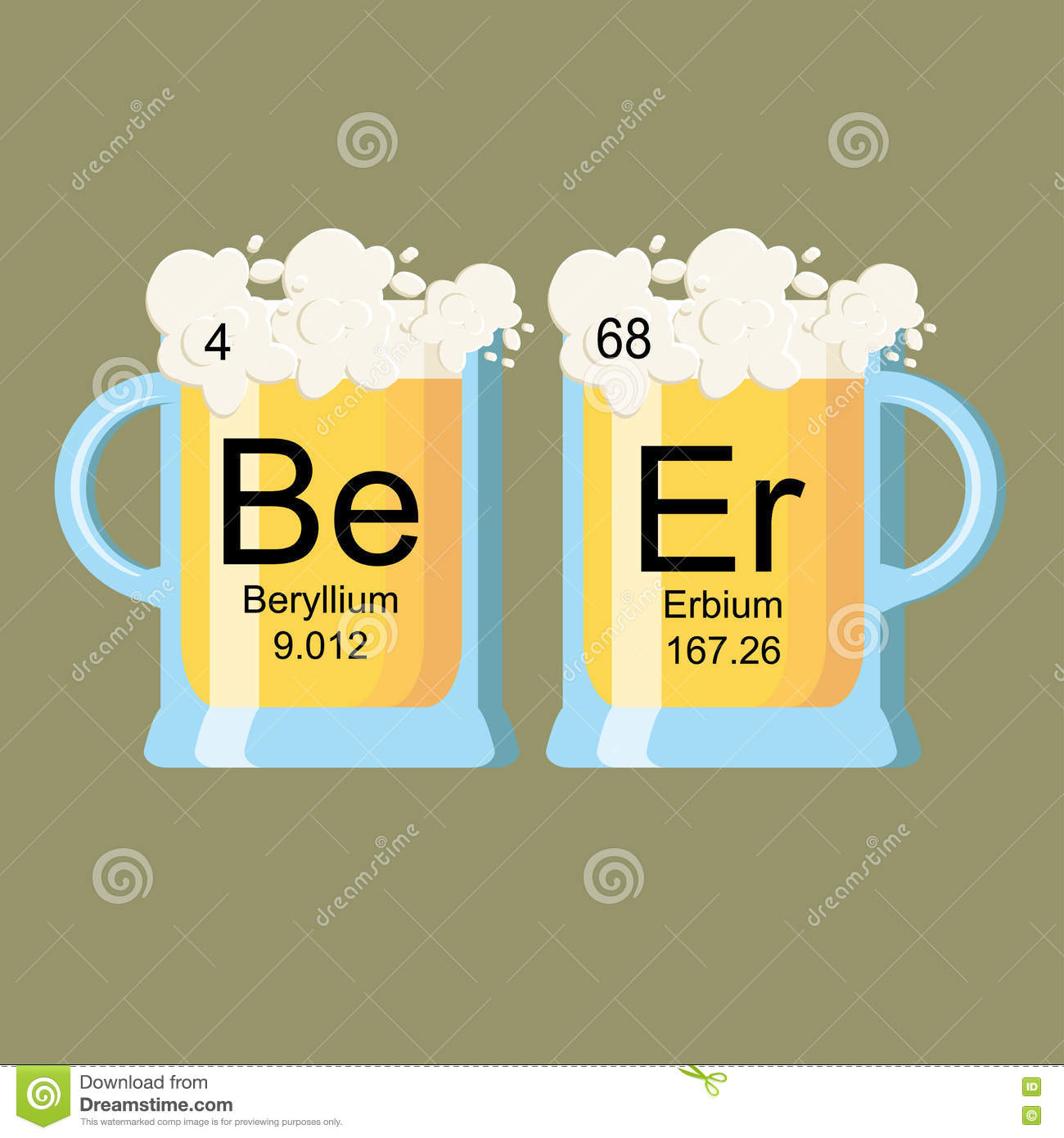 Periodic table of beer stock vector image of print 78851498 periodic table of beer gamestrikefo Image collections