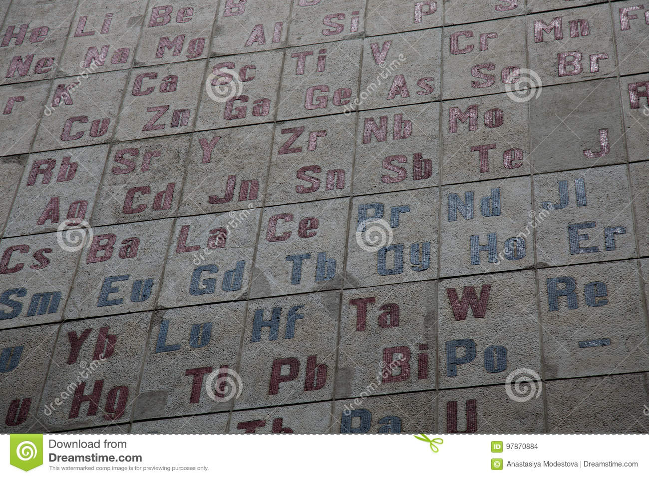 Periodic table chemical elements symbol numbers stock photo image periodic table chemical elements symbol numbers urtaz Image collections
