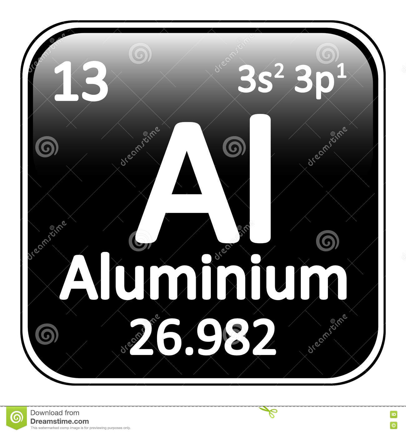 Periodic table aluminium choice image periodic table images periodic table element aluminium icon stock illustration image royalty free illustration download periodic table element aluminium gamestrikefo Image collections