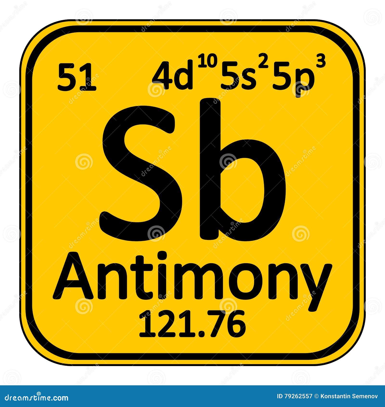 Periodic table element antimony icon stock illustration image royalty free illustration download periodic table element antimony gamestrikefo Choice Image
