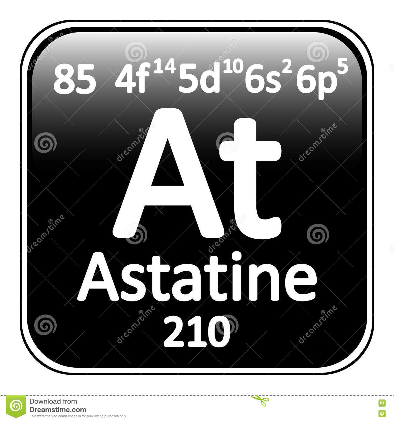 Periodic table element astatine icon stock illustration image royalty free illustration download periodic table element astatine gamestrikefo Image collections