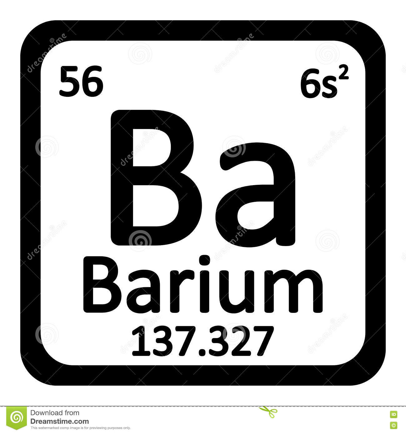 Periodic table element barium icon stock illustration image royalty free illustration download periodic table element barium gamestrikefo Gallery