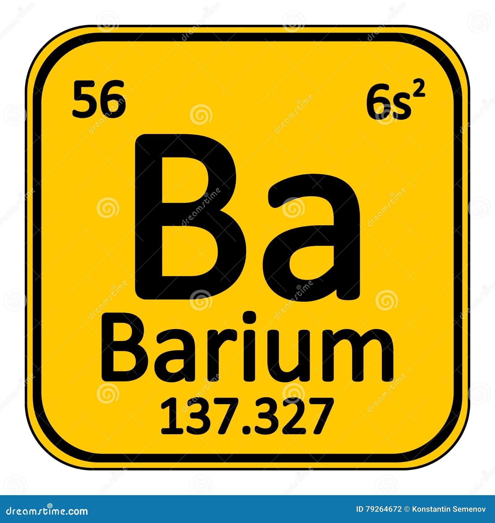 Periodic table element barium icon stock illustration periodic table element barium icon biocorpaavc Images