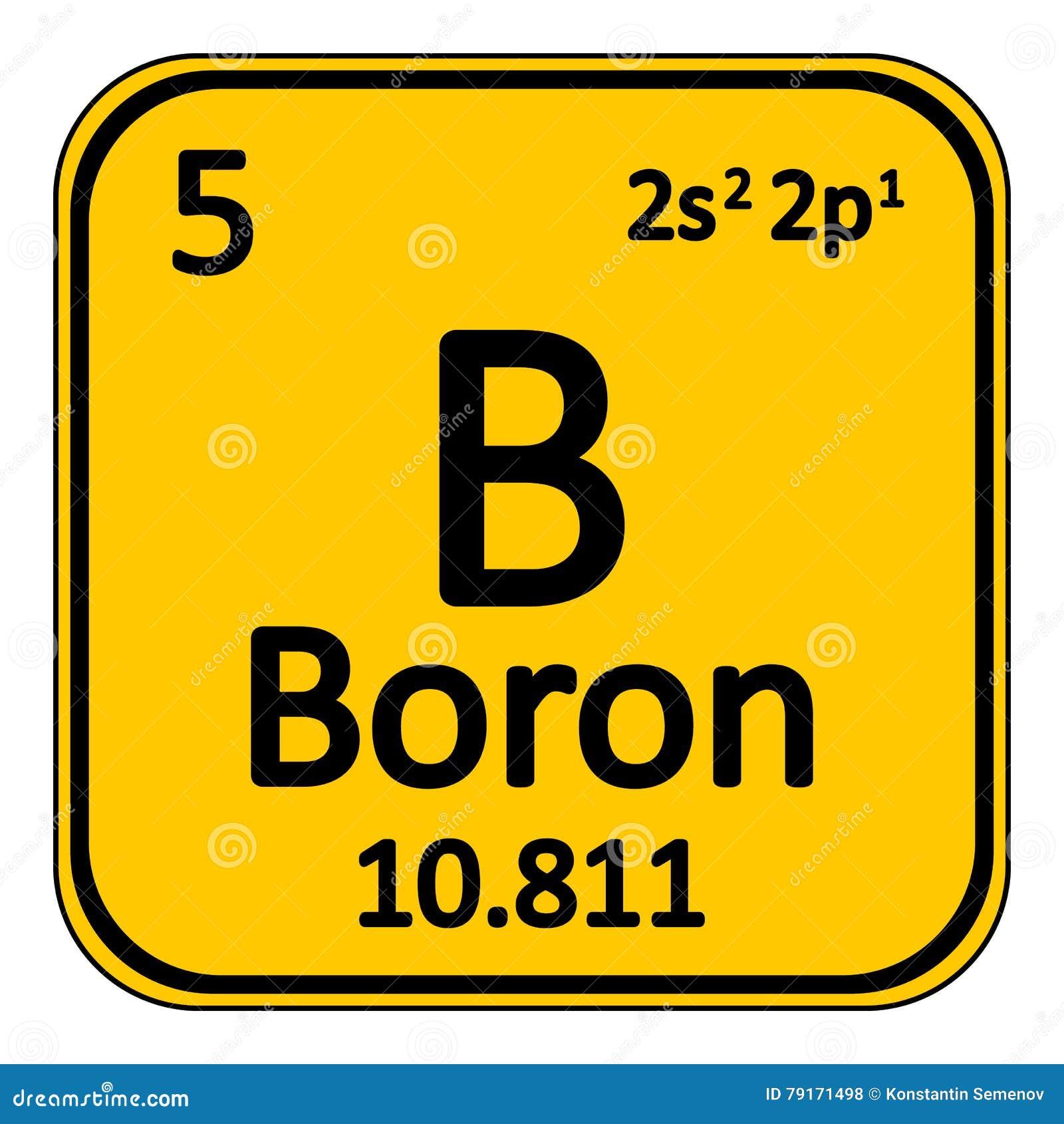 Periodic table element boron icon stock illustration image periodic table element boron icon gamestrikefo Image collections